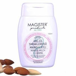 Magister Products Mandulatej arc és sminklemosó érzékeny bőrre