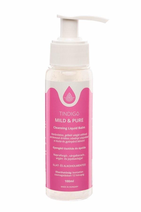 Tindigo Mild & Pure Cleansing Liquid Balm érzékeny bőrre 2