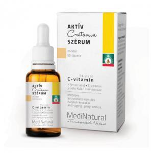 MediNatural Aktív C-vitamin Szérum anti-aging