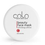 COLO feszesítő arcpakolás koffeinnel