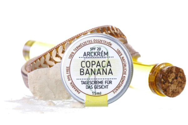Magister products Copaca Banana SPF20 UVA UVB arckrém