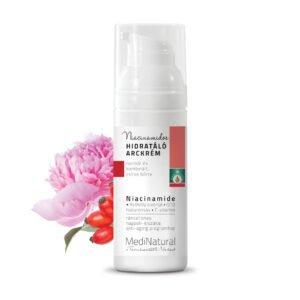 MediNatural Ráncellenes niacinamidos hidratáló arckrém