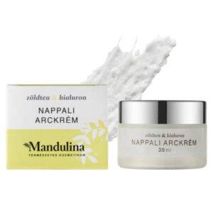 Mandulina zöldtea_hialuron arckrém