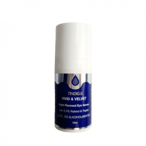 Tindigo Vivid&Velvet Night Renewal Retinol&Peptid Eye Serum