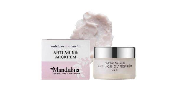 Mandulina Vadrózsa&Acmella Anti-aging arckrém